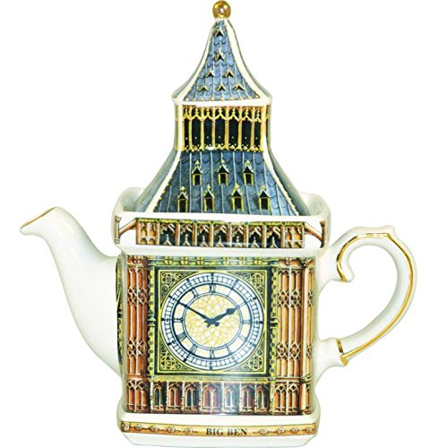Big Ben Traditional English Teapot - Fine China