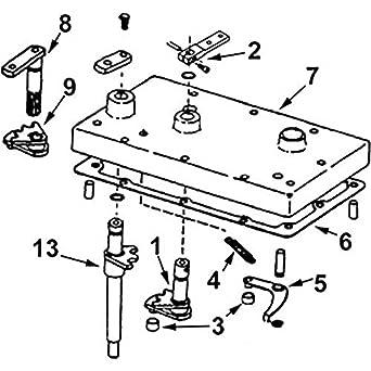 Amazon.com: IH668BKIT New HI Lo Shifter Kit For Case-IH ... on