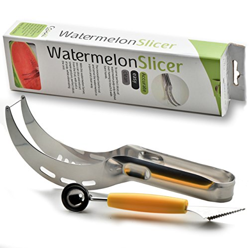 watermelon-slicer-tongs-melon-baller-knife-stainless-still-efficient-easy-to-use-and-economical-kitc