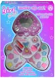Palette de maquillage pour déguisement - 3 niveaux - Boîtier en forme de cœur rose - Import Royaume Uni
