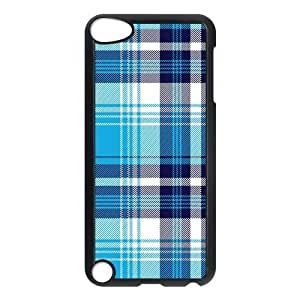 Custom Check Pattern Back Cover Case for ipod Touch 5 JNIPOD5-022