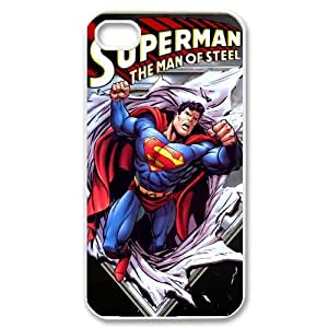 iPhone 4 case,custom iPhone 4 case, Customize Superman DC Comics Poster cell phone case pattern