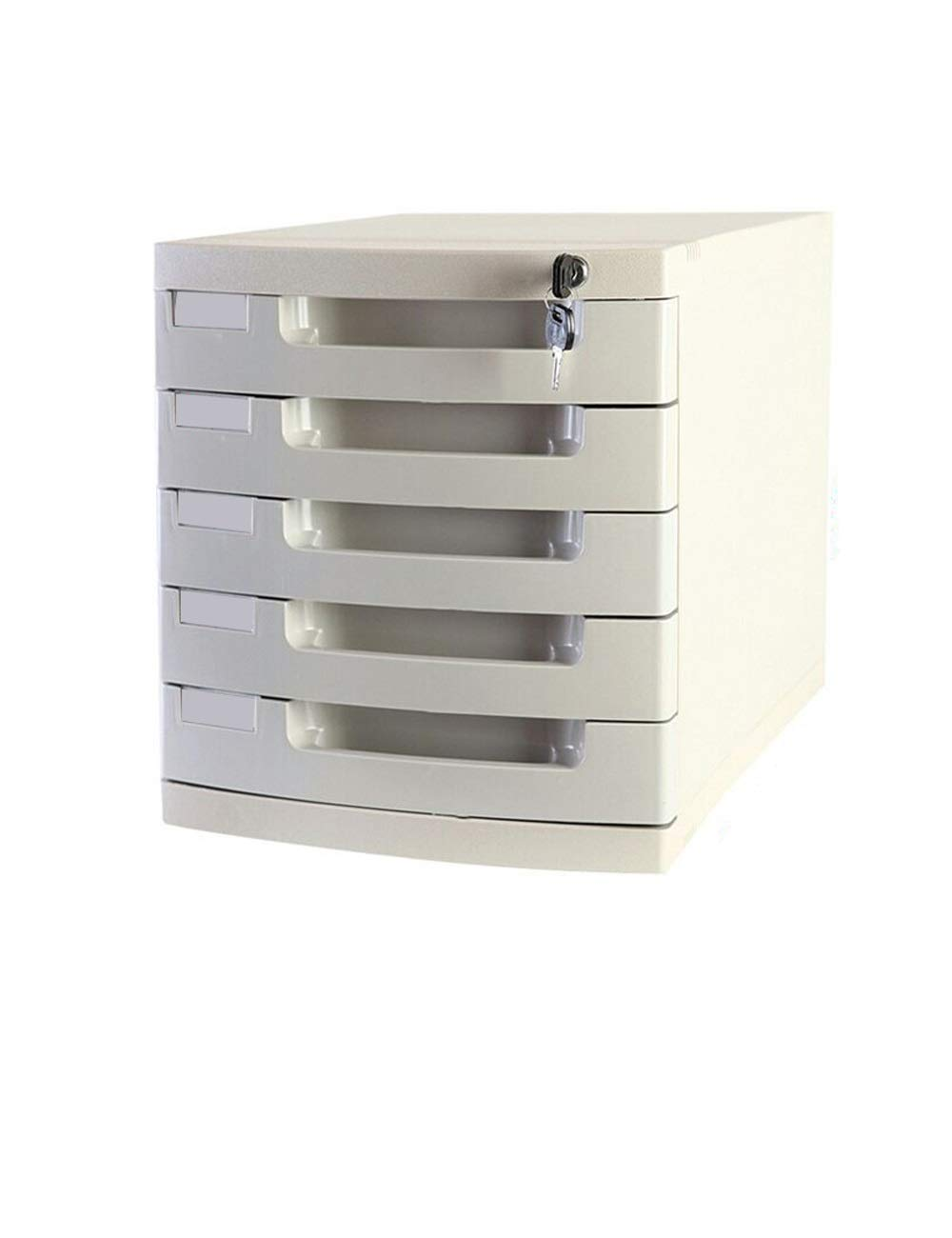 File Cabinet with Lock and Drawer Moving Multi-Function Cabinet 5 Drawers Color: Blue, Gray, Pink, Light Gray Office Desktop File Storage Cabinet Storage Filing cabinets (Color : D)