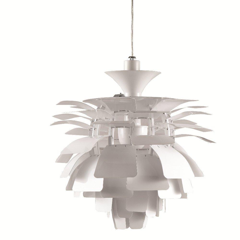 Designer modern artichoke pendant lamp 48cm in silver amazon designer modern artichoke pendant lamp 48cm in silver amazon home kitchen mozeypictures Gallery