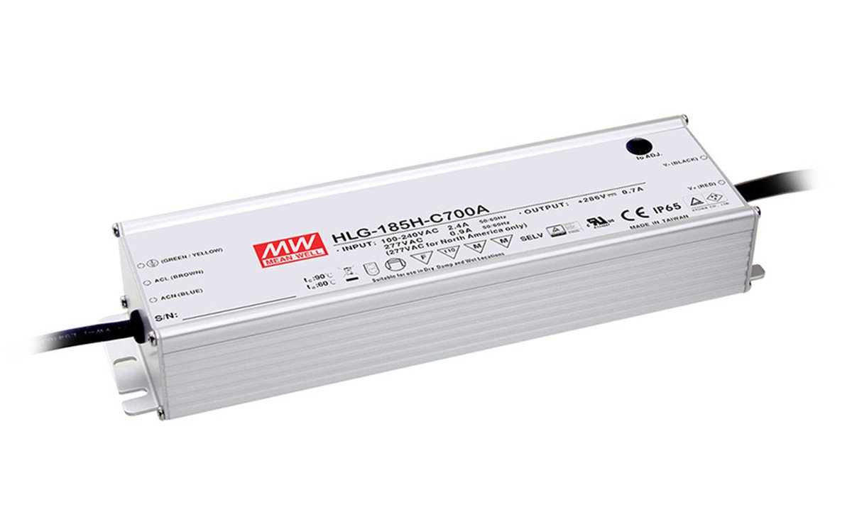 LED Power Supplies 320.6W114-229V1400mA CC IP67 3in1 dimming