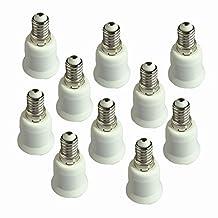 RYSA Light E12 to E26/E27 Adapter Converter 10-Pack