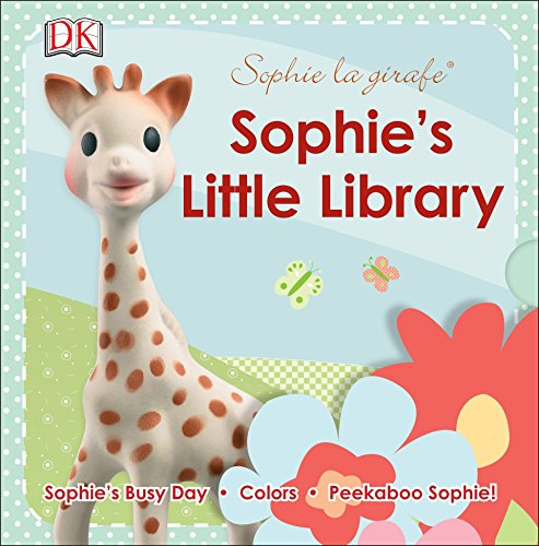 Sophie la girafe: Sophie's Little Library: Includes Sophie's Busy Day, Colors and Peekaboo Sophie!