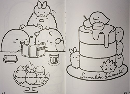 SanX Sumikko Gurashi a children coloring book Buy