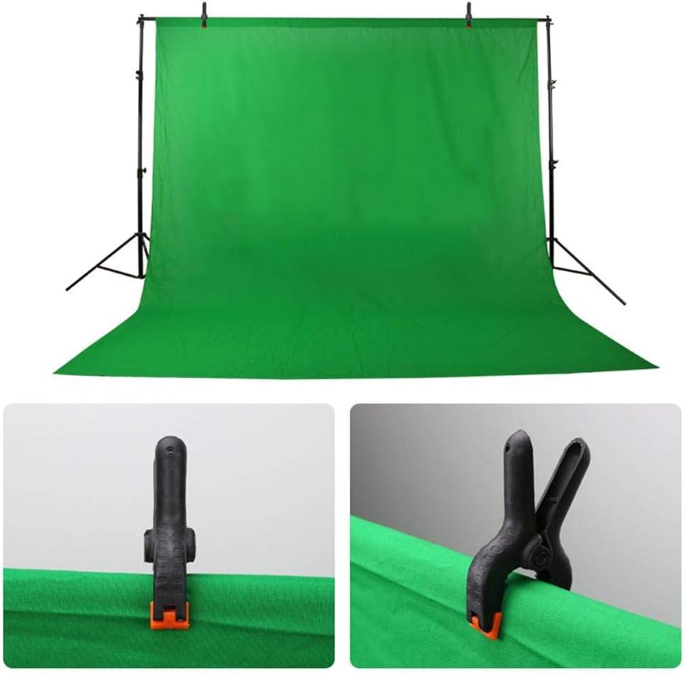Mavis Laven Fotostudio-Clips 6 ST/ÜCKE Nylon-Fotohintergrund-Klemmen Federklemmen f/ür Fotohintergrund-Hintergrund-St/änder-Clips