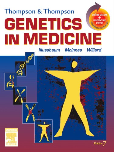 Download Thompson & Thompson Genetics in Medicine (Thompson and Thompson Genetics in Medicine) Pdf