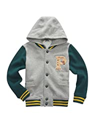 Pretty Tiger Little Boy's Hooded Warm Auturn Winter Parka Outwear Coats
