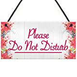XLD Store Please Do Not Disturb Therapist Hotel Privacy Hanging Plaque Home Door Gift Sign