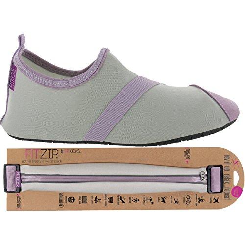 Chaussures Fitkicks Pour Femme Avec Sac Fitzip, Gris / Lavande Gris