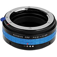 Fotodiox Pro Lens Mount Adapter - Nikon Nikkor F Mount G-Type D/SLR Lens to Fujifilm X-Series Mirrorless Camera Body, with Built-In Aperture Control Dial