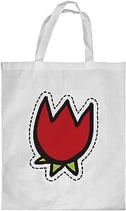Printed Shopping bag, Large Size, Tulip flower