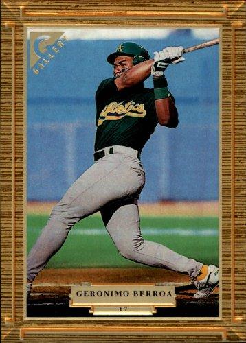 1997 Topps Gallery Baseball Card #67 Geronimo Berroa ()