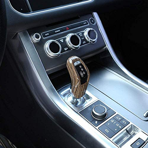 Sands Wood grain Style For Rangerover Sport 2014-2017 ABS Plastic Gear Shift Head Cover Trim Car Accessory