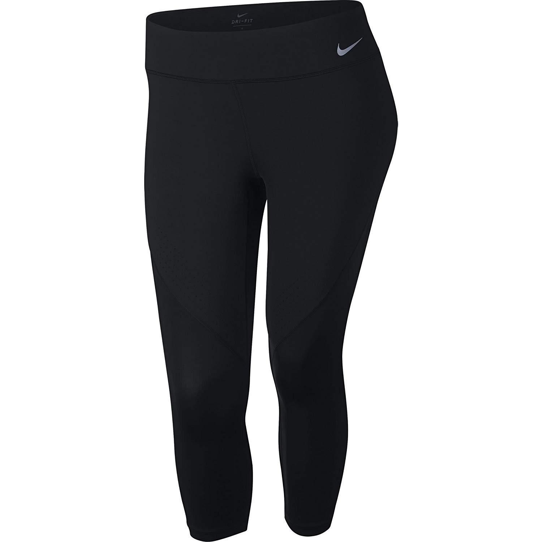 Nike Women's Power Epic Lux Crop Tight Black XL