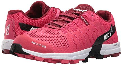 Inov-8 Women's Roclite 290 Trail Runner, Pink/Black/White, 6 D US by Inov-8 (Image #6)