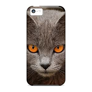 Awesome Case Cover/iphone 5c Defender Case Cover(cat)