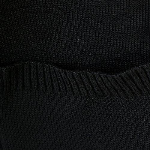 GETS(ゲッツ) スクールカーディガン 制服 無地 ゆったり ニット オールシーズン Vカーディガン オフィス ワンポイント 綿100% 制服 綿 コットンニット 綿ニット レディース 学生