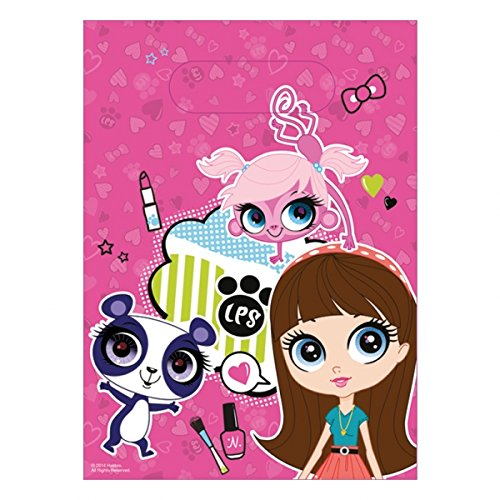 Littlest Pet Shop Favor Bags 6ct -