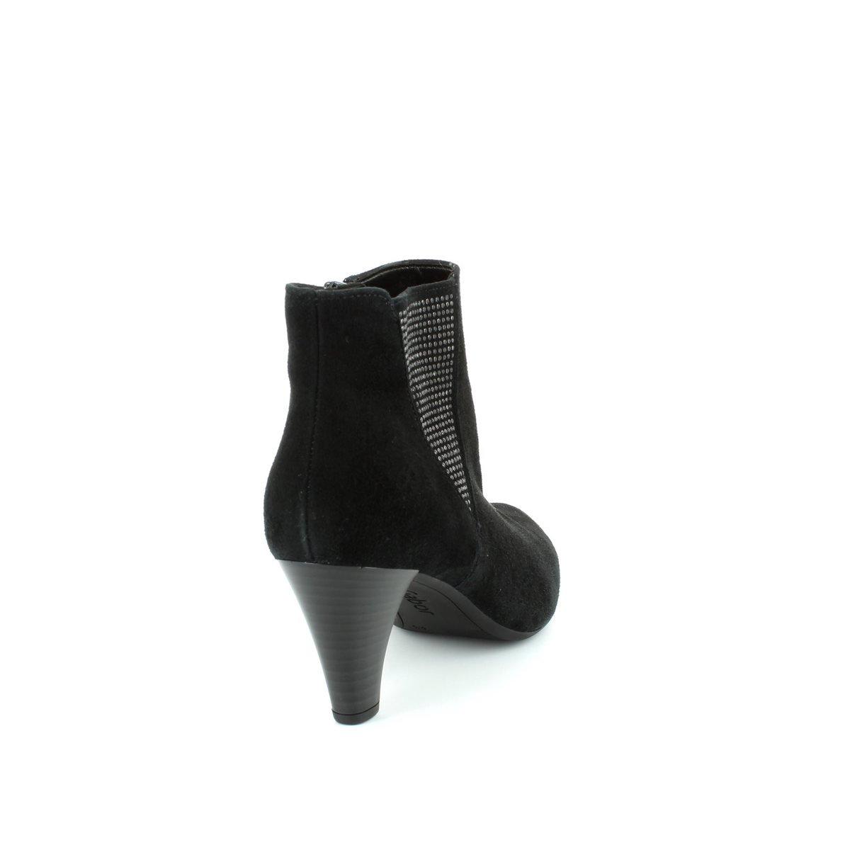 Gabor Ladies Ankle Boots 31.701.17 Black