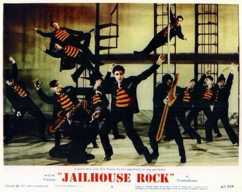 Jailhouse Rock POSTER Movie (1957) Style A 11 x 14 Inches - 28cm x 36cm (Elvis Presley)(Judy Tyler)(Vaughn Taylor)(Dean Jones)(Mickey Shaughnessy)(William Forrest)(Glenn Strange)