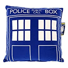 "Doctor Who Blue TARDIS 16"" Cushion"