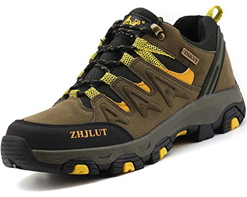 Lvptsh Chaussures de Randonnée pour Hommes Bottes de Randonnée Bottes de Trekking Antidérapantes Bottes d'escalade… 1