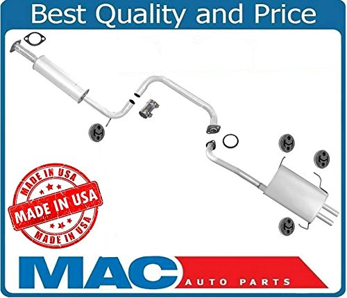Infiniti I30 Exhaust Muffler - 100% New Muffler Exhaust Pipe System Made in USA for Infiniti I30 3.0L 00-01
