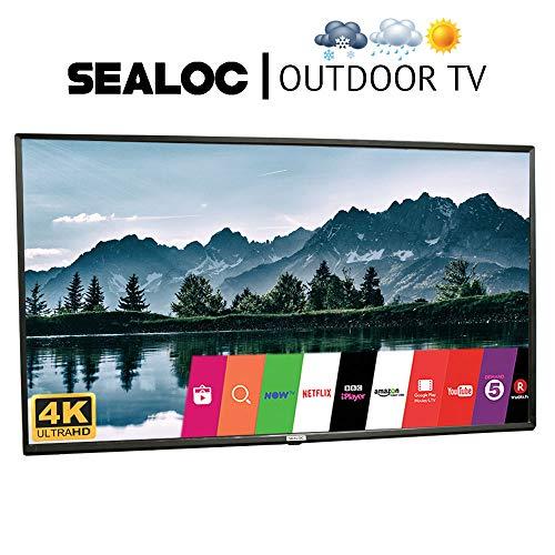 Outdoor TV Full Weatherized UHD Smart Weatherproof LED Television Sealoc 4K (75')