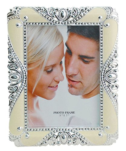 Chicone Plastic Vintage Flower Photo Frame with Stand European Style Desktop Picture Frames 5