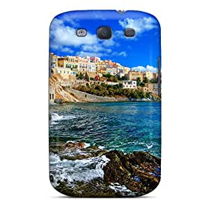 Fashionable CvBTJOm3060VCXuf Galaxy S3 Case Cover For Syros Sea View Protective Case