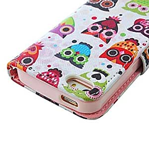 TLB iPhone 5/iPhone 5S compatible Graphic/Mixed Color/Special Design/Novelty Full Body Cases