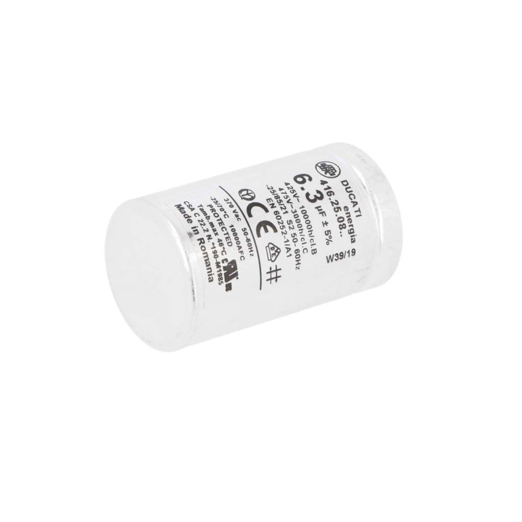 Condensatore 6.3uF//450V+GRD