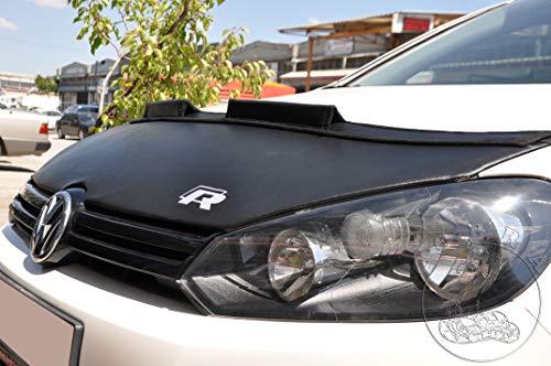 Cobra Auto Accessories Car Hood Bra + R32 Logo Fits Volkswagen Golf 6 VI MK6 R 2010 10 11 12 13 14 2014
