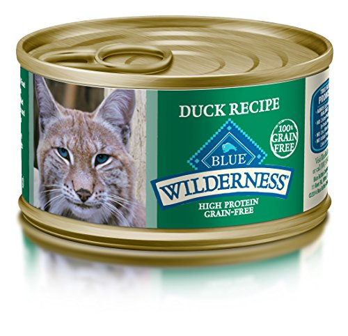 BLUE Wilderness Adult Grain Free Duck Pate Wet Cat Food 3-oz (pack of 24) -
