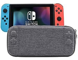 Nintendo Switch Çanta Gri Korumalı