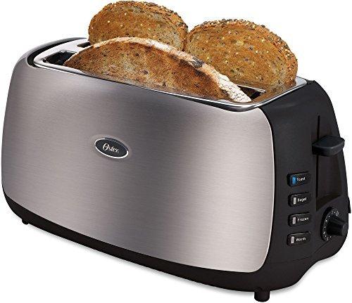 Oster Tsstjc4sst-lst 4-slice Long-slot Toaster