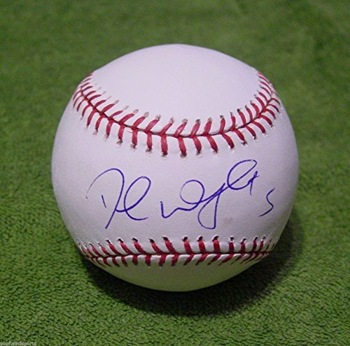 David Wright Autographed Signed Oml Baseball Ball Sweet Spot Mets With JSA Coa