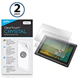 Wacom Cintiq Companion 2 DTH-W1310 Screen Protector, BoxWave® [ClearTouch Crystal (2-Pack)] HD Film Skin - Shields From Scratches for Wacom Cintiq 13HD Touch DTH-1300, 13HD DTK-1300 | Cintiq Companion 2 DTH-W1310