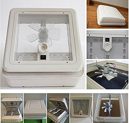 SAILFLO 12 V ventilador caravana RV techo ventilación autocaravana ...