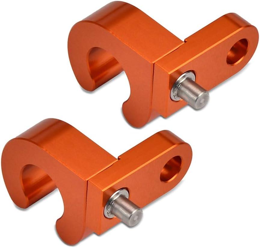 YUQINN Motorradteile Hinten Bremsleitung Schlauchkabelschelle Halter For KTM 65 85 125 200 250 300 360 380 450 525 620 640 660 SX XC EXC MXC LC4 SMR SMR ADV Color : 2 PCS