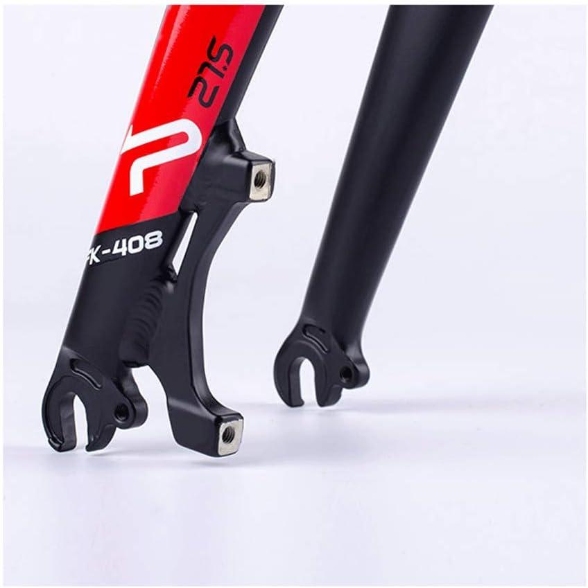 ZNND Montaña Bicicleta Frente Tenedor Ligero Aluminio Aleación 26 ...