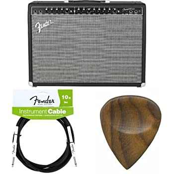 fender champion 100 100 watt electric guitar amplifier with cable and picks. Black Bedroom Furniture Sets. Home Design Ideas