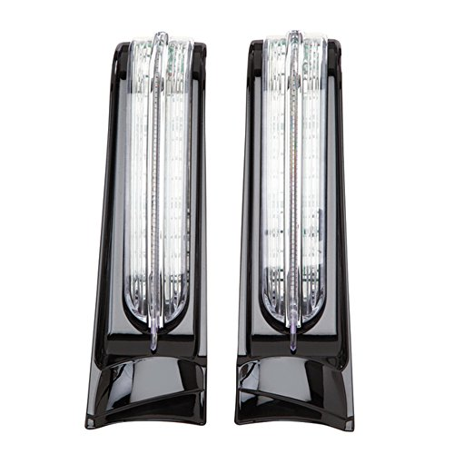 Ciro LED Light Filler Panels '14-up Harley-Davidson Ultra & Road King Motorcycle by Ciro