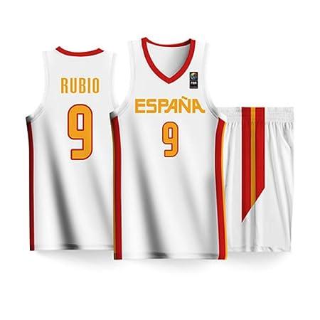 BALL-WHJ 2019 Copa Mundial De Baloncesto España Rubio # 9 ...