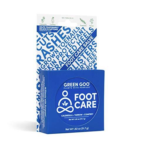 Green Goo Natural Skin Care Salve, Large Tin Foot Care 1.82 Ounce