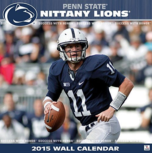 Turner Perfect Timing 2015 Penn State Nittany Lions Team Wall Calendar, 12 x 12 Inches (8011603)